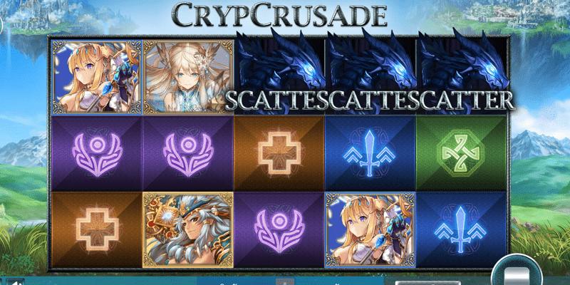 สัญลักษณ์ ของเกมสล๊อต CrypCrusade