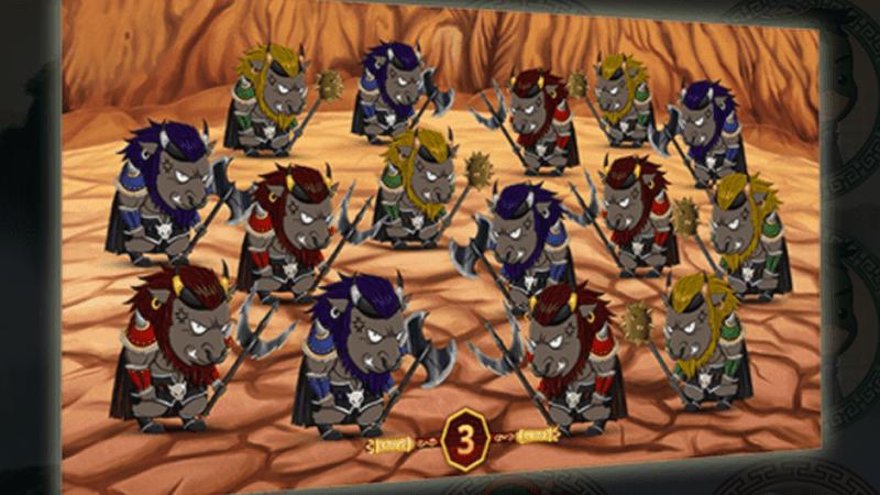 โบนัสเกมกําจัดปีศาจวัว - Zap A Bull Demon King Bonus Game
