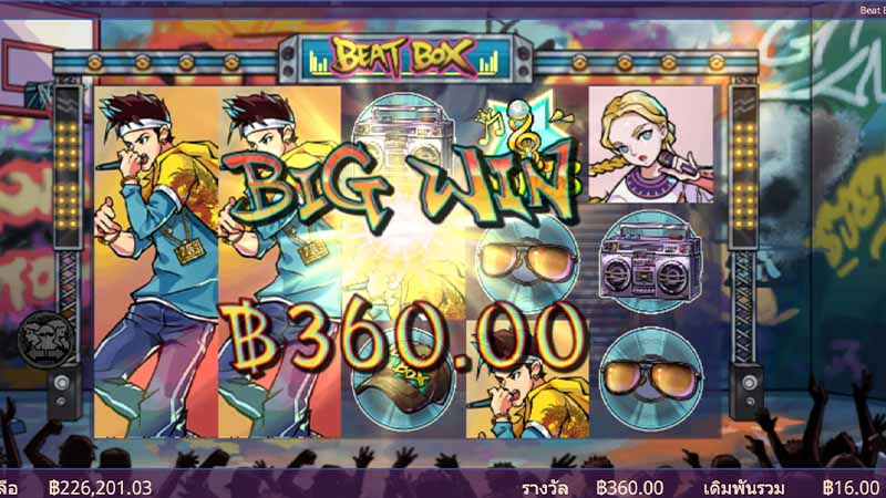 บทสรุป Ganapati ขอเสนอเกมสล็อตออนไลน์ Beat Box slot