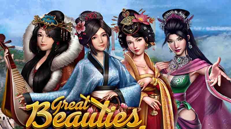 ธีมกราฟิกและซาวด์แทร็ก ภายในเกมสล็อต Great Beauties of China