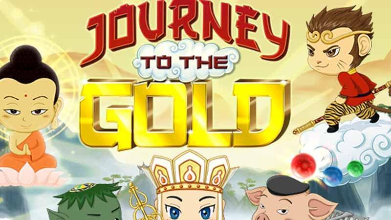 ธีมการนำเสนอของเกมสล็อต Journey to the Gold gamatron