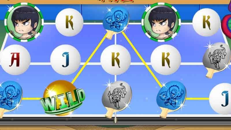 ฟีเจอร์โบนัสเกม ping pong king gamapati